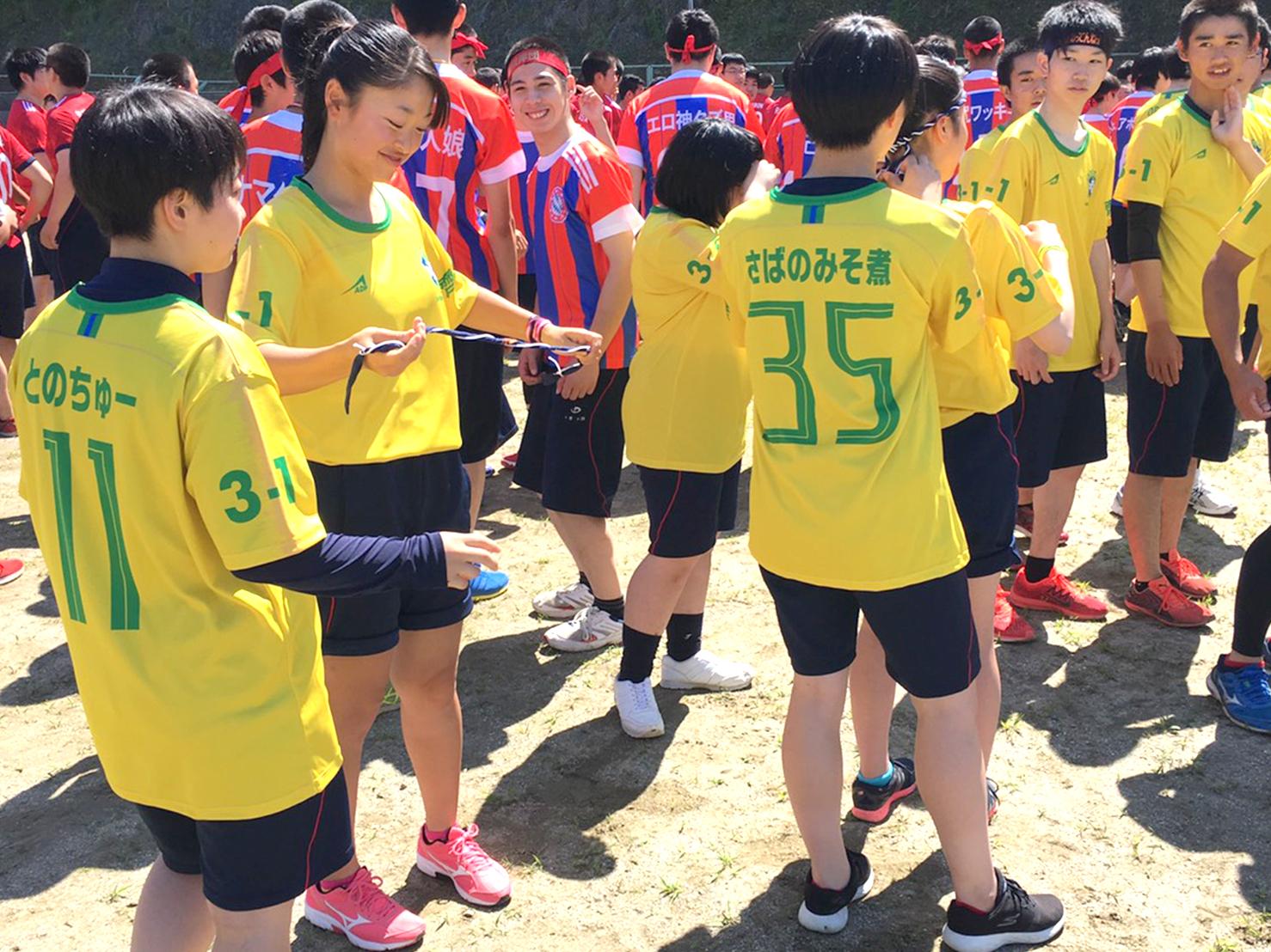高校生クラスTシャツ2019東陵高校(3-1)様(デカプリMAX)