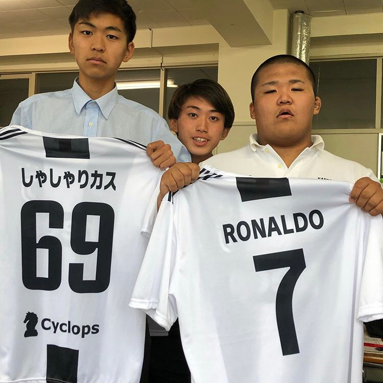 高校生クラスTシャツ2019札幌山の手高校(2-C)様(デカプリMAX)
