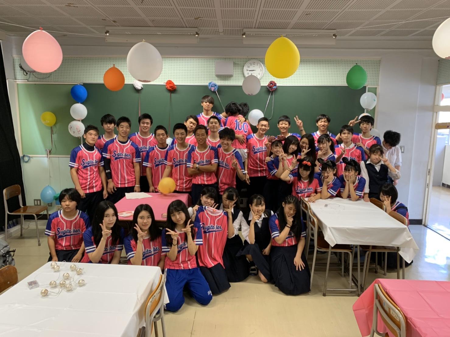 高校生クラスTシャツ2019所沢商業高校(3-1)様(デカプリMAX)